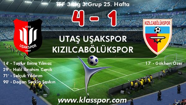 Utaş Uşakspor 4 - Kızılcabölükspor 1