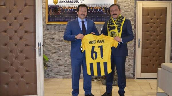 Ankara il Emniyet Müdürü'nden Ankaragücü'ne ziyaret