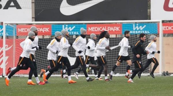 Galatasaray, taktik çalıştı