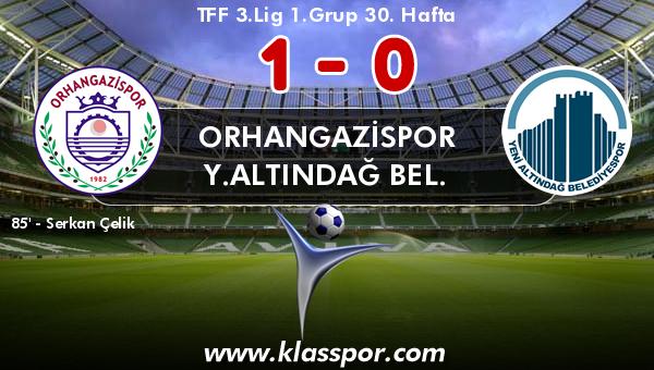 Orhangazispor 1 - Y.Altındağ Bel. 0