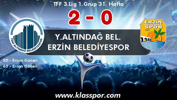 Y.Altındağ Bel. 2 - Erzin Belediyespor 0