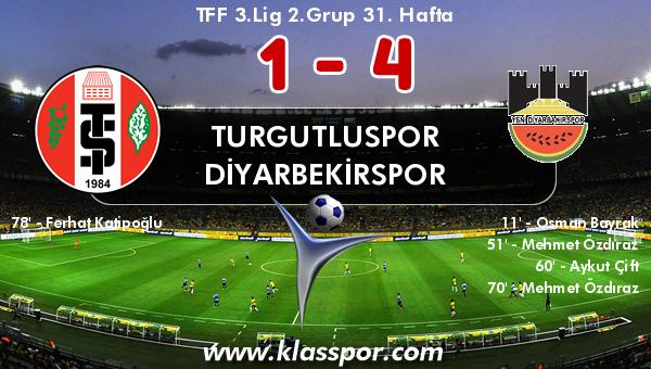 Turgutluspor 1 - Diyarbekirspor 4