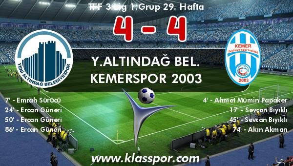 Y.Altındağ Bel. 4 - Kemerspor 2003 4