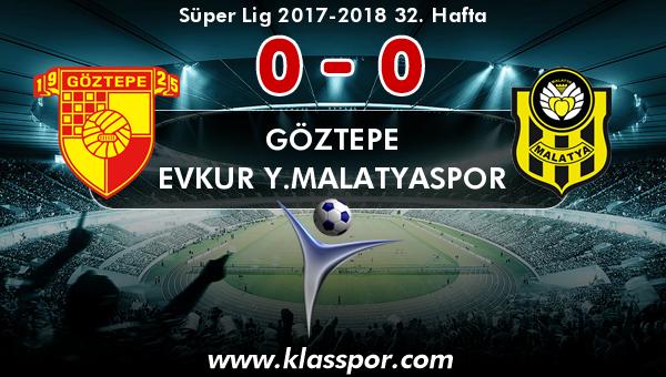 Göztepe 0 - Evkur Y.Malatyaspor 0
