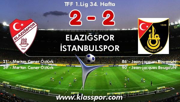 Elazığspor 2 - İstanbulspor 2