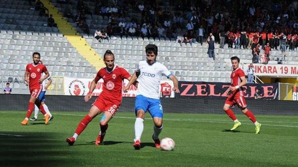Ankara Demirspor finalde...