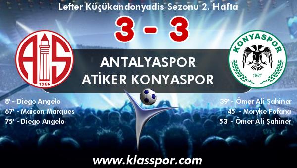 Antalyaspor 3 - Atiker Konyaspor 3