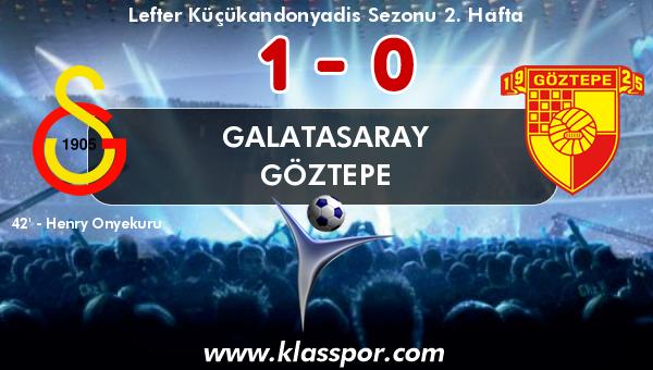 Galatasaray 1 - Göztepe 0
