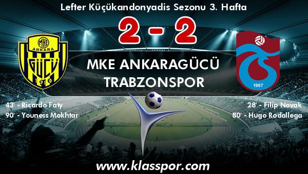 MKE Ankaragücü 2 - Trabzonspor 2