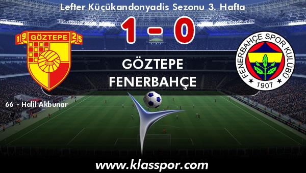 Göztepe 1 - Fenerbahçe 0