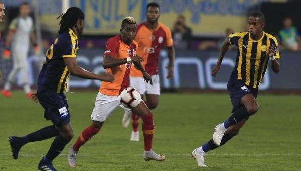 Ankaragücü başladı, Galatasaray bitirdi...