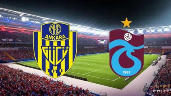 Ankaragücü, Trabzonspor'u ağırlayacak