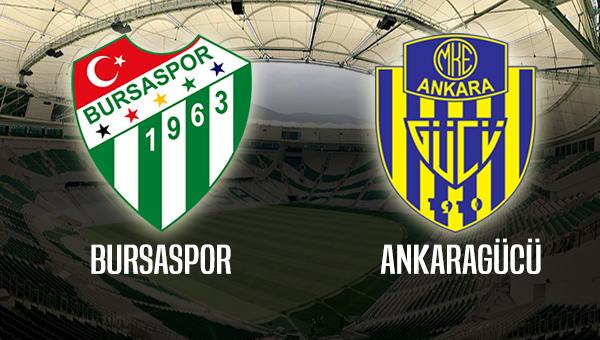 Bursaspor - Ankaragücü maçı canlı yayınlanacak mı? Bilet fiyatları ne kadar olacak?