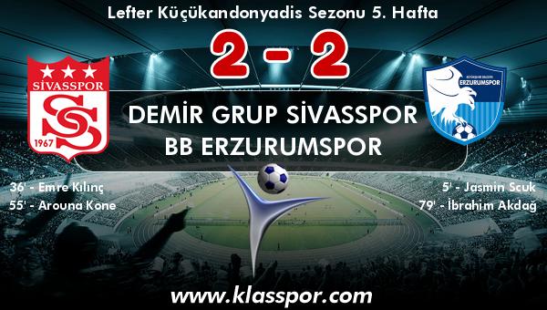 Demir Grup Sivasspor 2 - BB Erzurumspor 2