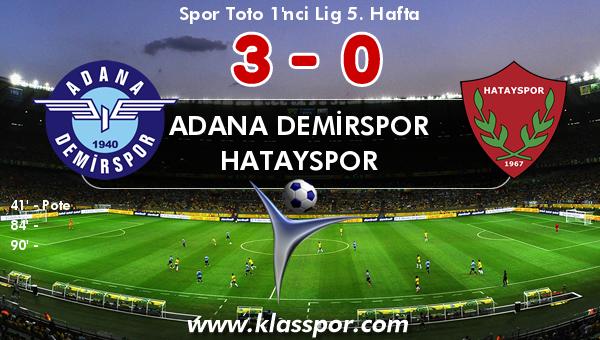 Adana Demirspor 3 - Hatayspor 0