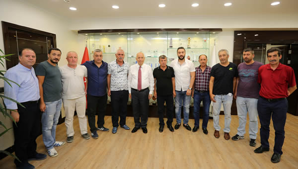 Ankaragücü taraftarından Fethi Yaşar'a ziyaret