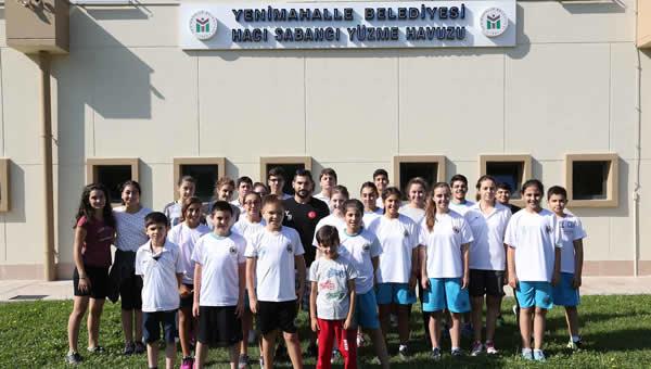*Şampiyon yüzücüler yeni sezona hazırlık kampında