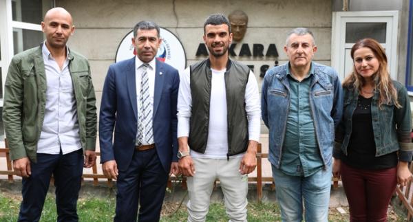 Sofuoğlu'ndan TSYD Ankara Şubesine ziyaret
