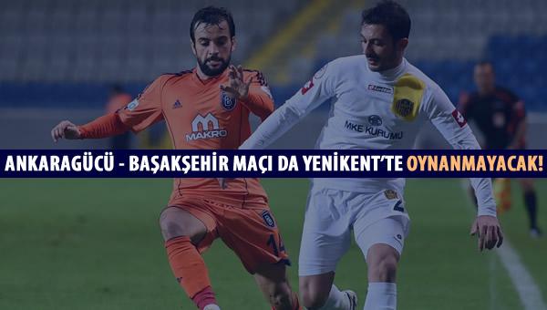 Ankaragücü'ne bu hafta da Yenikent yasak!