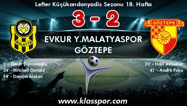 Evkur Y.Malatyaspor 3 - Göztepe 2
