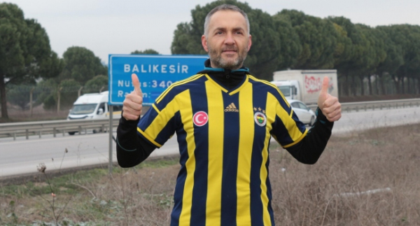 Fenerbahçe için İzmir'den İstanbul'a 17 günde koşacak