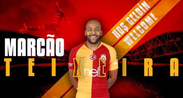 Marcao, Galatasaray'ın 21. Brezilyalı futbolcusu