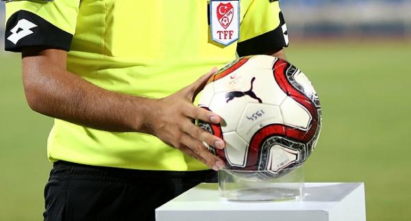 Spor Toto 1.Lig'de 19. haftanın hakemleri açıklandı
