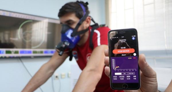 Sporcuların verimliliği artık telefonla takip edilecek