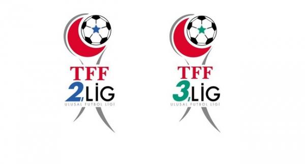 TFF 2. Lig ve TFF 3. Lig'de sonuçlar