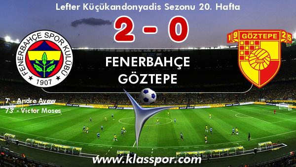Fenerbahçe 2 - Göztepe 0