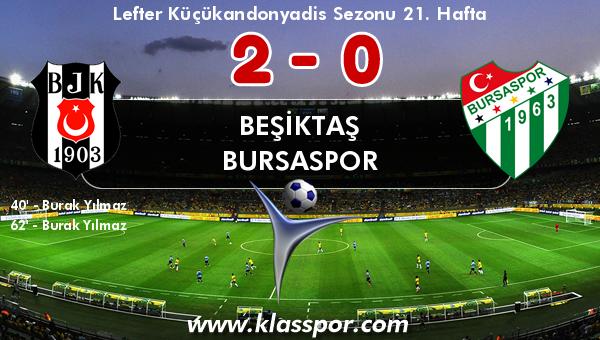 Beşiktaş 2 - Bursaspor 0
