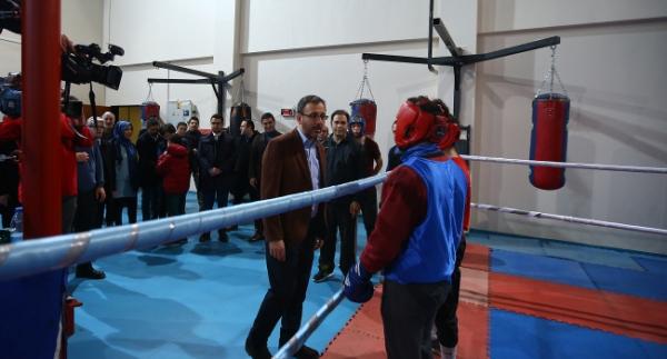 Bakan Kasapoğlu, Ankara TOHM'u gezdi