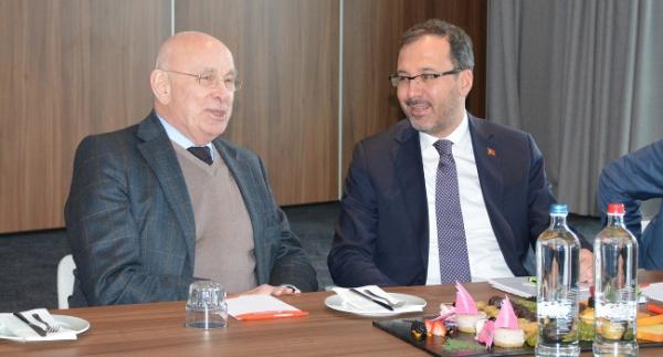 Bakan Kasapoğlu, Hollanda Spor Bakanı ile buluştu