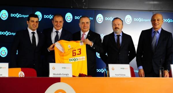 Galatasaray'dan isim sponsorluğu anlaşması