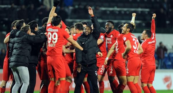 Ümraniyespor'da hedef UEFA Avrupa Ligi
