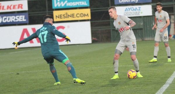 Fenerbahçe hazırlık maçında Eskişehirspor'u yendi