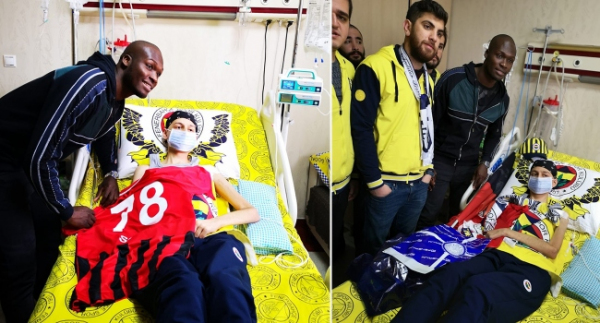 Lösemi hastası Mehmet Polat'a Sow sürprizi