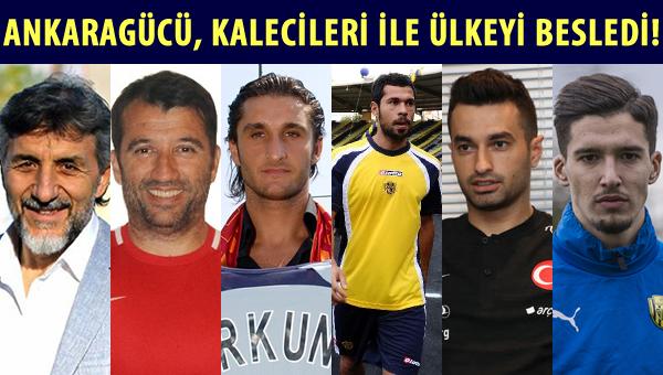 Ankaragücü, kalecileri ile A Milli takımı besledi!