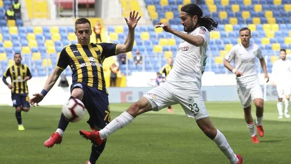 Ankaragücü, Konyaspor'a karşı 1 puanla yetindi!