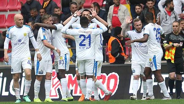 Ankaragücü'nün Kayseri vurgunu: 0-2
