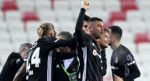 Beşiktaş'ın şampiyonluk için iştahı kabardı