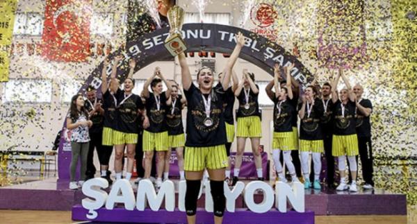 Çankaya Üniversitesi'nde kupa sevinci