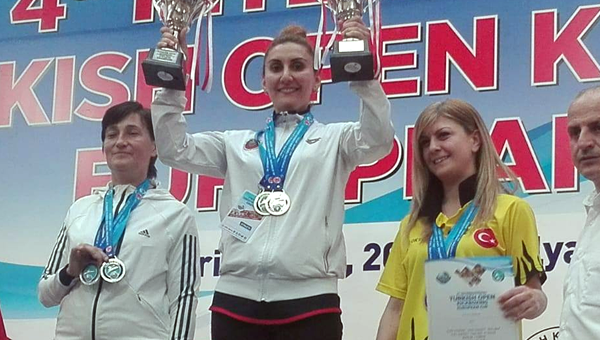 Gençlerbirliği sporcusu Avrupa Şampiyonu oldu...