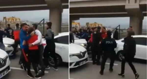Göztepe'de kavga şoku