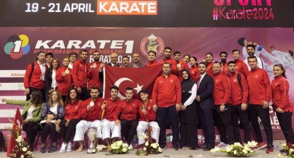 Karateden 10 madalya