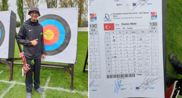 Mete Gazoz'dan 2 rekor birden