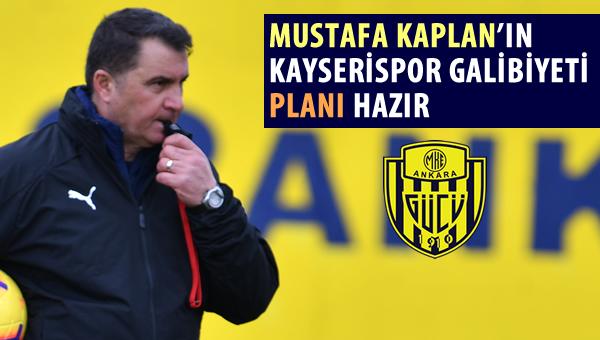 Mustafa Kaplan'ın galibiyet planı hazır