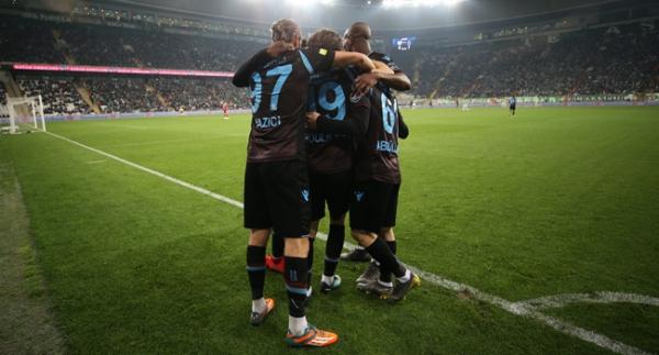 Trabzonspor, Avrupa'ya yürüyor