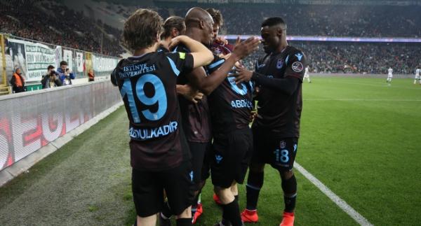 Trabzonspor'un gençleri golleriyle de katkı sağlıyor