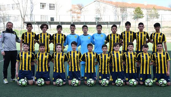 Ankaragücü, U14 takımından umutlu